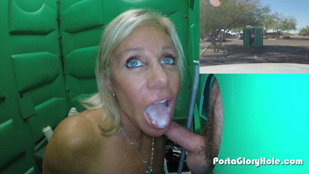 Blonde Teen Deepthroat Swallow